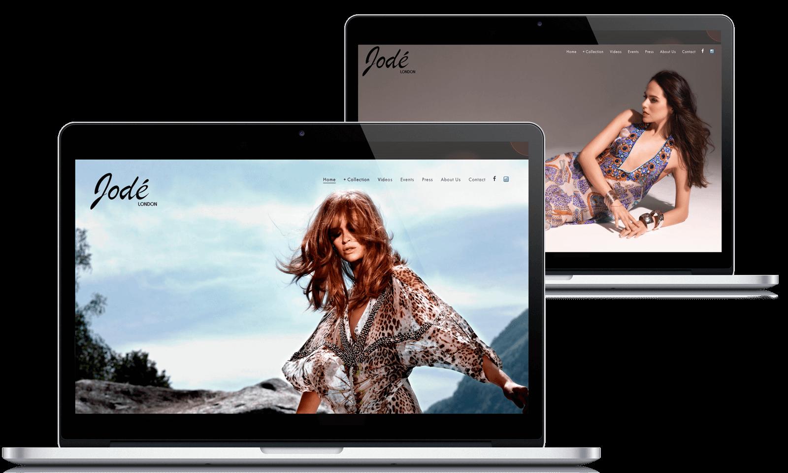 Jodelonon Website design
